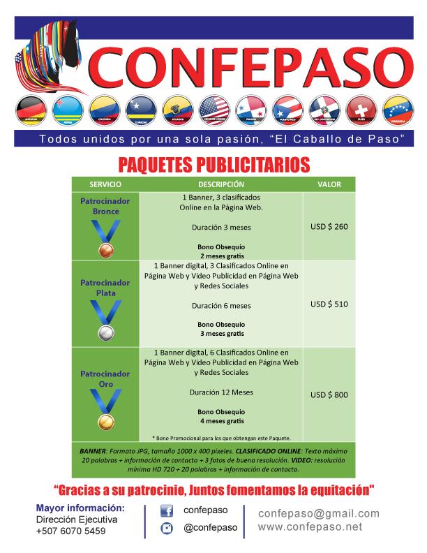 CONFEPASO-TARIFAS-PUBLICIDAD-PAGINA--PAQUETES-PATROCINADORES